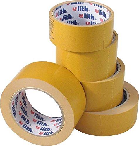 Preisvergleich Produktbild Teppich Verlegeband Doppelseitig Klebeband 48 mm x 25 m ULITH (30 Stück)