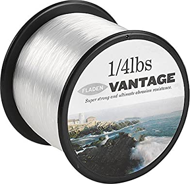 Fladen Vantage Pro clear fishing line - .70mm / 55lb / 238 metres