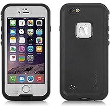 HiveTech™ Funda impermeable estanca para iPhone 6 a prueba de golpes Funda estanca completa para iPhone 6 4.7 pulgadas (blanco)