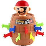 SwirlColor Pop-out pirate seau insert épée jeu drôle astuce jouets