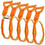 Vastar 5Pack Ablauf Schlange Haar Ablauf Verstopfen Entferner Reinigung Werkzeug
