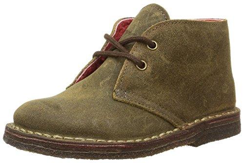 Pèpè S1016 FM, Desert boots mixte enfant, Marron (Crosta Ingrass Caffe/Matt Para Tm), 23 EU