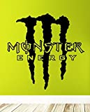 Wandtattoo Monster Energy Symbol Emblem (M)