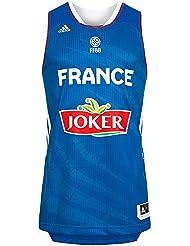 Adidas - Maillot Equipe de France Bleu adidas 2014 pour homme