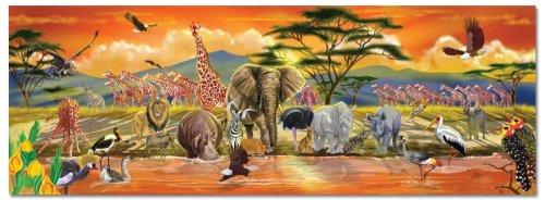 Melissa & Doug Safari Floor Jigsaw Puzzle (100 Pieces)