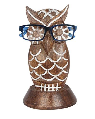 Weihnachtsgeschenke, Handgefertigte Holz Brillenhalter Brillengestell Owl Shaped (55