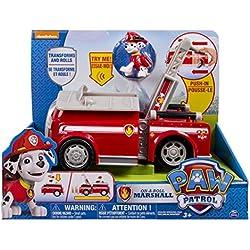 Paw Patrol - Vehículo con sonidos, 28 x 32.3 x 28.7 cm [modelos surtidos], 1 unidad (6022629)