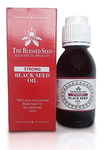 Price comparison product image Black Seed Oil, Cold Pressed, Strong and Potent, Premium Quality (Strong)