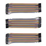 AptoFun -  Cable Macho a Macho, DuPont para Cable Arduino, Raspberry Pi cable para Arduino Breadboard, 120 Piezas
