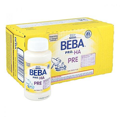 Nestlé Beba Optipro Pre Anfangsmilch von Geburt an Pulver 800g wiederverschließbar mit praktischer Löffelablage