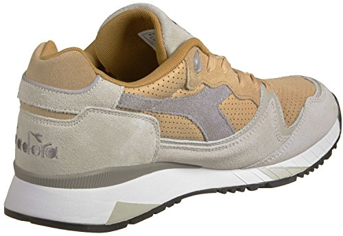 Diadora V7000 Premium Sand / Light Gray Sneaker Turnschuhe Running Multicolor
