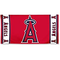 Los Angeles Angels Center Logo Beach Towel by WinCraft
