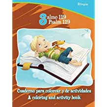 Salmo 119, Psalm 119 - Bilingual Coloring and Activity Book: Cuaderno para  colorear y de actividades - Bilingüe (Bible Chapters for Kids)