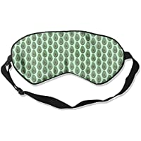 Avocado Leaves Natural Silk Sleep Mask Comfortable Smooth Blindfold for Travel, Relax preisvergleich bei billige-tabletten.eu