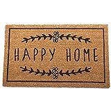 Paillasson Happy Home   Paillasson d'Entrée Intérieur Extérieur, Original