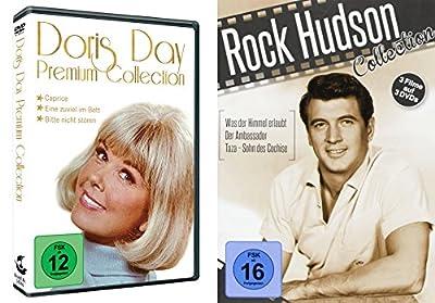 6er Doris Day & Rock Hudson Klassiker Collection - Caprice + Eine zuviel im Bett + Bitte nicht stören + Was der Himmel erlaubt