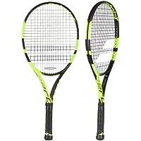Babolat Pure Aero Junior 26 Raquetas de Tenis, Unisex niños, Negro/Amarillo, 1