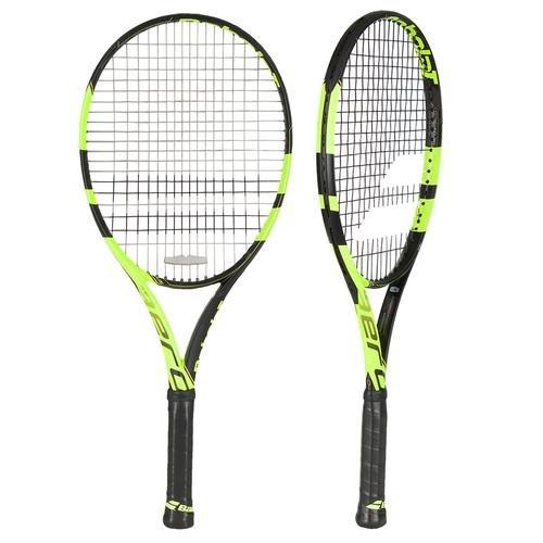 Babolat Pure Aero Junior 26 Raquetas de Tenis, Unisex Niños, Negro / Amarillo, 1