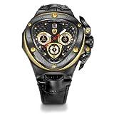 Tonino Lamborghini Spyder 8955-Orologio cronografo, colore: nero