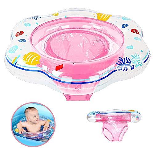 DAYPICKER Schwimmring mit Schwimmsitz, Baby Schwimmring mit PVC für Kleinkind Schwimmhilfe Spielzeug 6 Monaten bis 3 Jahren