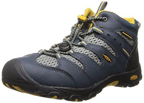 Keen KOVEN MID WP C Unisex-Kinder Trekking- & Wanderstiefel Blau