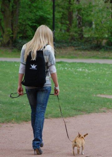 Hundetrage Puppy Bag Antrazit-Melange -