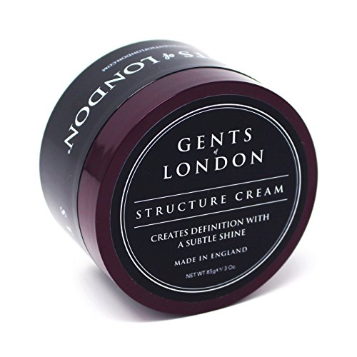 Gents of London Structure Cream – Männer Haarwachs für starken Halt & professionelle Haarstylings – 85g