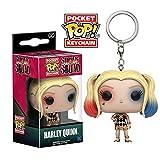 FunKo Porte-Clés Pocket Pop ! Keychain - Suicide Squad - Harley Quinn (robe)