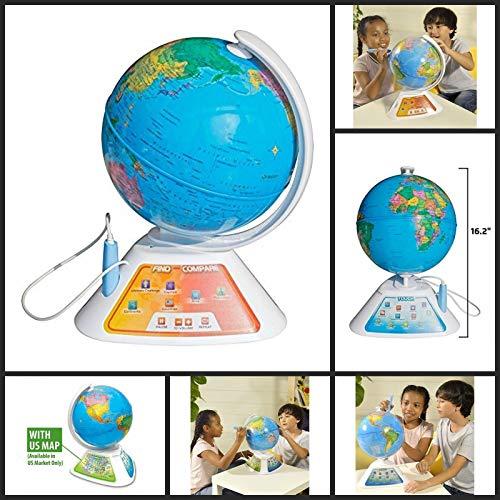 Oregon Scientific Interaktiver Globus mit elektronischem Stift (SG268)