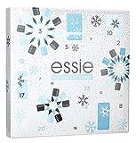 Essie Calendario dell'Avvento, Cofanetto Regalo Donna Natale in Edizione Limitata con 24 Sorprese Firmate Essie, Smalti dal Risultato Professionale