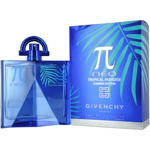 GIVENCHY Pi Neo Tropical Paradise Eau De Toilette Spray, 3.3 Ounce by Givenchy (Neo Givenchy Pi)