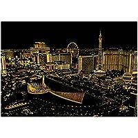 Las Vegas: Der neue DIY-Ansicht Spiel Kreativ Scratch Nacht Draw
