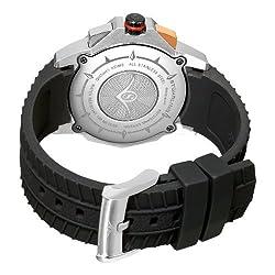 Stuhrling Original Mens 300B.33A61 Commander Swiss Quartz Chronograph Rosetone Watch
