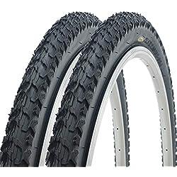 Par de Fincci Cubiertas de carretera montaña MTB bicicleta de barro Offroad Fincci 27,5 x 2.10 52-584