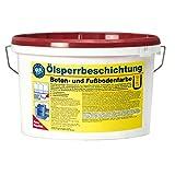 Pufas Ölsperrbeschichtung Betonfarbe Fußbodenfarbe 5L rotbraun