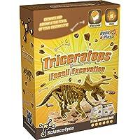 Science4You, Gioco Educativi - Scavo Fossile: Triceratops