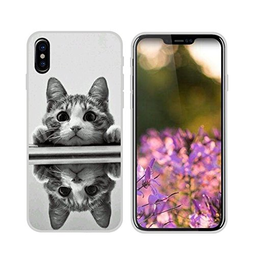 Easbuy Cute Soft TPU Silicium Etui Étui Housse Coque Pour iPhone 8 Anti-Scratch Silicone Silikon Cover Silicon Case Mode 4