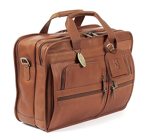 Claire Chase Executive Computer Brief, Saddle (Beige) - 151 -