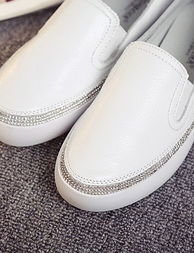 ZQ gyht Scarpe Donna-Sneakers alla moda / Mocassini-Casual-Comoda / Chiusa / Stivali-Piatto-Di pelle-Rosa / Bianco , pink-us8 / eu39 / uk6 / cn39 , pink-us8 / eu39 / uk6 / cn39 pink-us6.5-7 / eu37 / uk4.5-5 / cn37