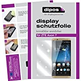 dipos I 6X Schutzfolie klar passend für ZTE Axon 7 Folie Bildschirmschutzfolie