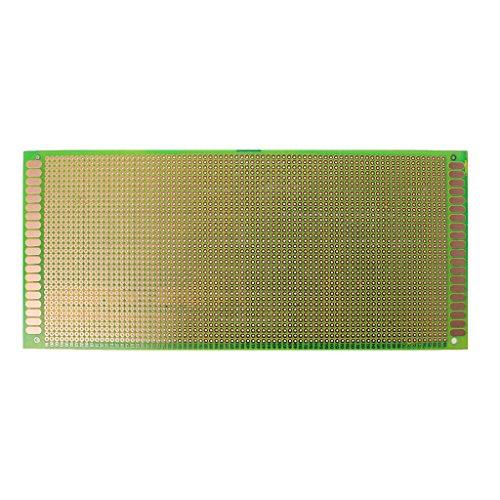 REMO-Y 10x22 cm Einseitig Universal DIY Leiterplatte PCB Löten FR-4 Glasfaser Elektronische Komponenten -