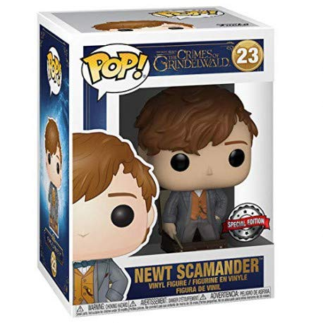 Funko Pop Movies: Fantastic Beasts 2 - Newt Scamander (in Suitcase) Exclusive Vinyl Figure