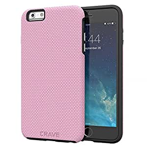 iPhone 6S Plus Case, Crave Grip Guard Protection Series Case for iPhone 6 6s Plus (5.5 Inch) - Pink