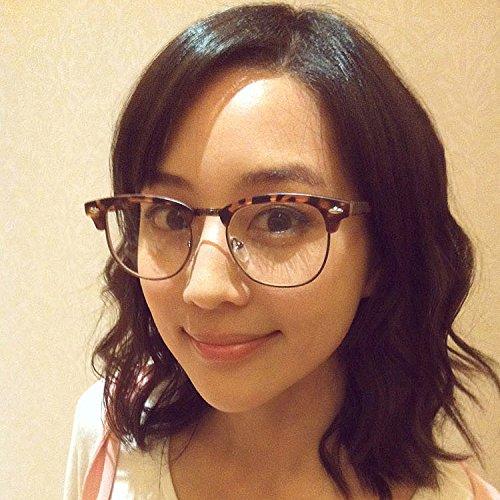 Sonnenbrillen Frame Flache Brille Mit Linsen Männlichen Damen Vintage-lopard Druck Myopia-brillen Rahmen Leopardendruck