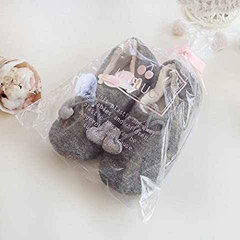 Autunnali e invernali mestiere amano profondo grigio lana calda casa pacchetto con pantofole di cotone donne incinte , figure , 38-39