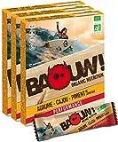BAOUW Organic Nutrition - AGRUME CAJOU PIMENT DE JAMAIQUE - Barres nutritionnelles & énergétiques 100% BIO pour le sport ou un encas sain - vegan - sans gluten - crues - 12 barres x 30g