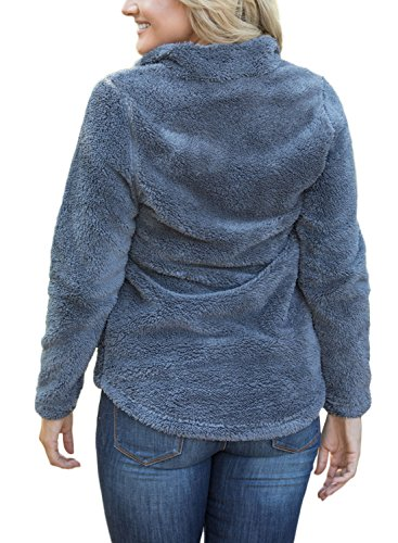 Dearlove Damen Sweatshirt Grau