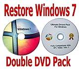 Windows 7 Home Premium 64 Bit Recovery Restore Repair Boot...