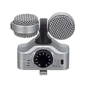 ZOOM iQ7 MS Stereo Mikrofon für Apple iPhone/iPad