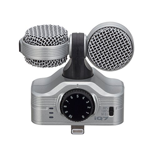 ZOOM iQ7 MS Stereo Mikrofon für Apple iPhone/iPad -